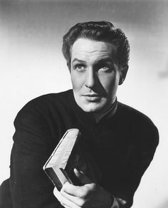 "Vincent Price en ""Las llaves del reino"", 1944"
