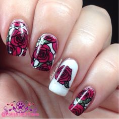Nail Art: Born Pretty Store Stamping plate BP-73