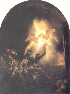 "Rembrandt: ""The Resurrection of Christ"", 1639."
