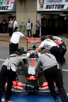 Canadian GP 2013  pushed back into the garage :)