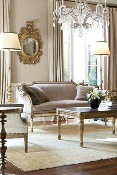 French living room design