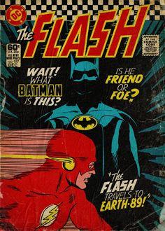 Flash Comics, Dc Comics Art, Batman Comics, Culture Pop, Geek Culture, Flash Comic Book, Comic Art, Comic Books, The Dark Knight Trilogy