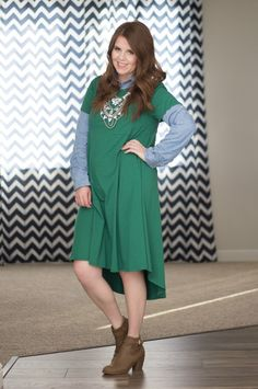 Lularoe Carly Outfit Idea: Layered for Winter @lularoe