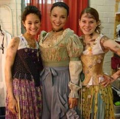 Lea Solanga and Celia Keenan-Bolger in Les Mis on Broadway