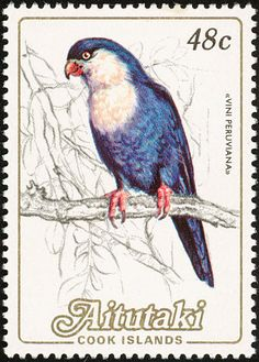Blue Lorikeet stamps - mainly images - gallery format