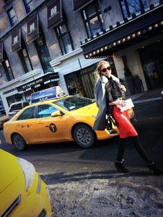 Rumbo a Carolina Herrera #show #nyfw #nyfw14 #nyc #marialeonstyle