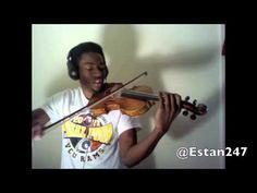 Rihanna - Diamonds violin cover    Click to play