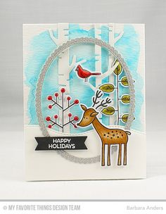 Snijmallen My Favorite Things Stitched Oval Scallop Edge Frames Diy Cards, Holiday Cards, Christmas Cards, Christmas Deer, Christmas Wishes, Friends Set, Cards For Friends, Mft Stamps, Jingle All The Way