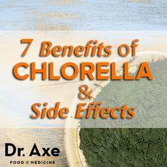 7 Chlorella Benefits & side effects