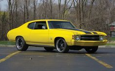 1971 Chevrolet Chevelle Custom Sport Coupe