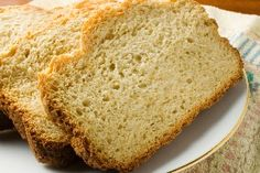 Easy Beer Bread #Recipe - only 5 ingredients. Just mix & bake!