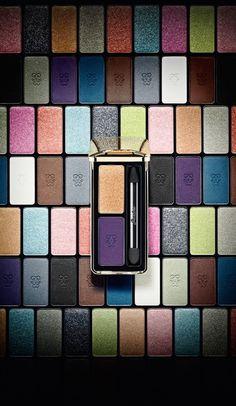 "Natalia Vodianova for Guerlain ""Voilette de Madame"" Fall 2013 make-up collection Love Makeup, Makeup Art, Fall Makeup, Fall Collection, Eyeliner, Eyeshadow, Fashion Magazin, Makeup Techniques, Tips Belleza"
