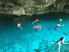Mexico. cenotes in Tulum