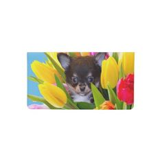 Easter Chihuahua dog Checkbook Cover   blue merle chihuahua, too faced chihuahua, chihuahuas #chihuahuapelolongo #chihuahuapets #chihuahuapeanut Chihuahua Quotes, Chihuahua Puppies, Teacup Chihuahua, Checkbook Cover, Travel Light, Animal Quotes, Custom Design, Terrier, Pets