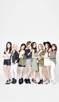 CASIO BABAY-G SNSD Girls Generation iPhone wallpaper/Lockscreen