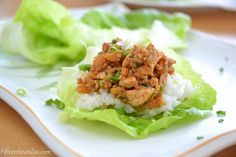Asian Pork Lettuce Wraps Recipe