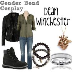 Add studs or small hoop earrings, a watch, and a belt. Supernatural Inspired Outfits, Supernatural Fashion, Supernatural Cosplay, Supernatural Clothes, Supernatural Art, Tomboy Fashion, Fashion Outfits, Geek Fashion, Fashion Ideas