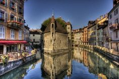 Annecy, France, not Paris, but still gorgeous and still France