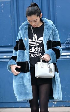 candy colored coats #streetstyle