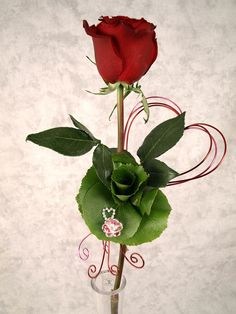 Valentine's Day Bejeweled Rose | by Flower Factor