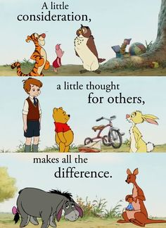 This Sunday is Winnie the Pooh Day in honor of the English author and creator, A. Milne's birthday - Do you have a favorite Winnie the Pooh quote? Walt Disney, Disney Love, Disney Magic, Disney Pixar, Disney Characters, Disney Stuff, Winnie The Pooh Quotes, Winnie The Pooh Friends, Disney Winnie The Pooh