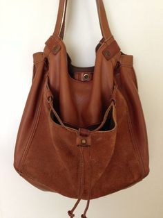 Lucky Brand Soft Caramel Brown Leather and by JustThePretties, $65.00