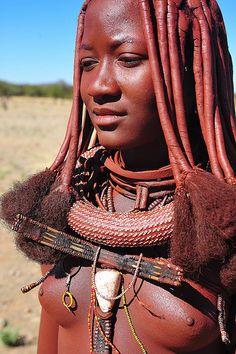 Africa |  Himba woman, Namibia |  © Luca Gargano, via Flickr