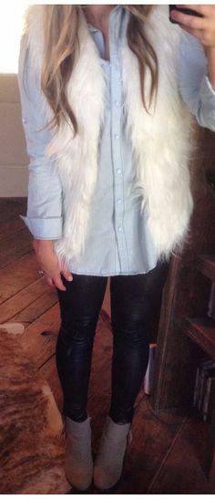 Miss America Fur Vest