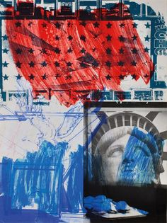 People for the American Way - Robert Rauschenberg prints