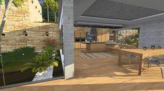 Lumion 3D - House Montain (3D architectural visualization)
