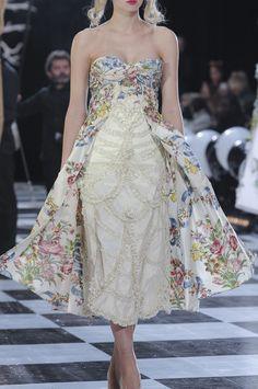 Défilé Franck Sorbier Printemps-été 2014 Haute couture -...