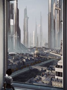 City with a view by 4dimensional
