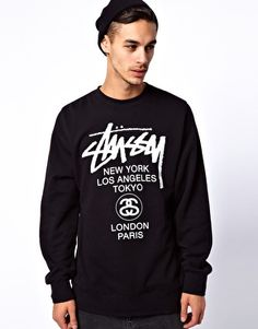 Stussy World Tour Sweat