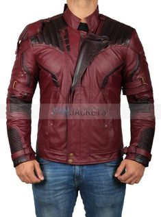 4ea1cd9a49c Avengers Infinity War Star Lord Jacket