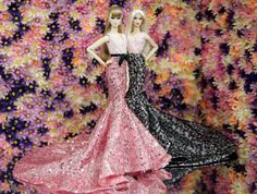 dress for fashion royalty Poppy Parker Silkstone by Rimdoll