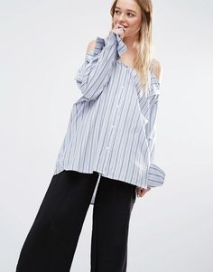 Pinstripe blue shirt https://api.shopstyle.com/action/apiVisitRetailer?id=523279316&pid=uid6736-33915356-35&site=www.shopstyle.co.uk