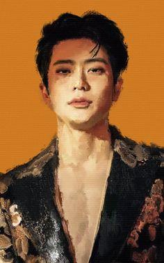 Nct Johnny, Kpop Drawings, Valentines For Boys, Jung Jaehyun, Jaehyun Nct, Kpop Fanart, Boku No Hero Academy, Nct Dream, K Idols