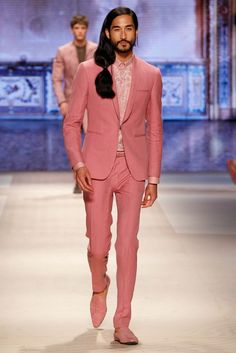 Etro Makes a Case for the Male Side Ponytail