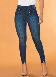 a59a05c2f Moda Feminina, roupas, acessórios, vestidos, blusas, calças. produto Sawary  Jeans ...
