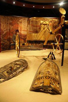 King Tutankhamun's Chariot and Shields