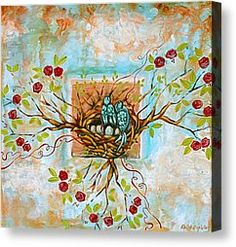 Love Is The Red Thread Painting by Shiloh Sophia McCloud - Love Is The Red Thread Fine Art Prints and Posters for Sale