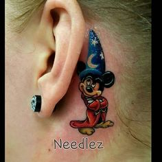 2 inch tall Mickey Mouse I just did. Mickey And Minnie Tattoos, Mickey Tattoo, Disney Tattoos, Baby Name Tattoos, Mini Tattoos, Body Art Tattoos, Cool Tattoos, Cute Small Tattoos, Tattoos For Kids