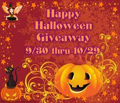 Happy Halloween Giveaway #HHG1015