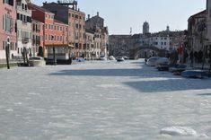 Frozen Venice.