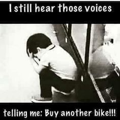 It would seem that bikes that can cost upwards of two or three thousand dollars would include more information about mountain bike repair than a few pages in Cycling Memes, Cycling Quotes, Cycling Motivation, Road Cycling, Motorcycle Memes, Motorcycle Posters, Easy Rider, Bike Humor, Bike Quotes