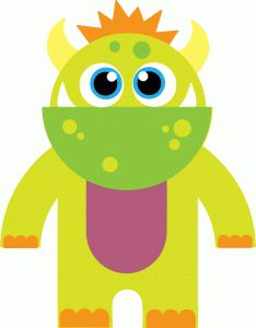Silhouette Online Store - View Design #48448: cute monster