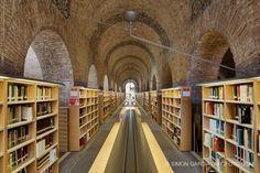 Biblioteca Dipòsit de les Aigües | Barcelona