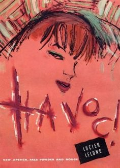 "Lucien LeLong ""Havoc"" Cosmetics Ad"