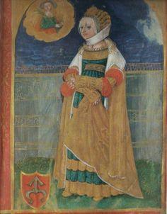 """Description Polski: Portret Barbary z Szydłowieckich Tarnowskiej Date ok. 1530  Source Barbara Miodońska """"Miniatury Stanisława Samostrzelnika""""  Author Stanisław Samostrzelnik (1485–1541)    Thumbnail for version as of 21:09, 21 November 2013"""