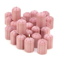 Pink Scented Candles, Lucious Housewarming including Strawberry Ice Cream, Votive and